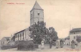 54 - FREMENIL : Vue Intérieure Et L'Eglise ( Bonne Animation ) - CPA - Meurthe Et Moselle - France