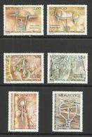 MONACO , Lot De 6 Timbres , Inscription Rupestre Du Parc De Mercantour , 1989 , Du N° YT 1663 Au N° 1668 , NEUF ** - Monaco