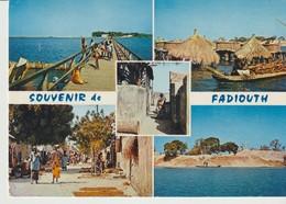 C.P. - PHOTO - RÉPUBLIQUE DU SÉNÉGAL - SOUVENIR DE FADIOUTH - 5 VUES - 5337 - A. D. P. - Sénégal