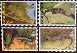 Swaziland 1996 Reptiles Snakes MNH - Reptiles & Batraciens