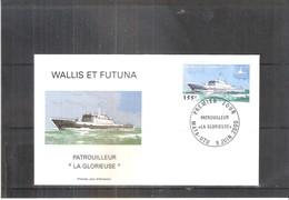 "FDC Wallis & Futuna - Patrouilleur ""La Glorieuse"" -  2000  (à Voir) - FDC"