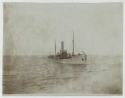 Bateaux . Le Paquebot Clérence à Newhaven . 1903 . - Bateaux