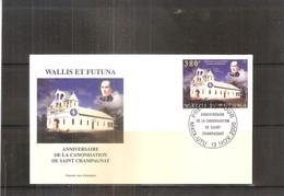 FDC Wallis & Futuna - Anniv.de La Canonisation De Saint Champagnat -  2000  (à Voir) - FDC