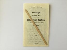 GENAPPE»Pèlerinage En L'honneur De La Décollation De Saint Jean-Batiste à GLABAIS-LEZ-GENAPPE (1920) - Genappe