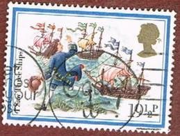 GRAN BRETAGNA (UNITED KINGDOM) -  SG 1202.1204 -  1982   CHRISTMAS  - USED - 1952-.... (Elizabeth II)