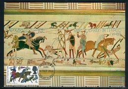 Royaume Uni - Carte Maximum 1966 - Tapisserie De Bayeux - Cartes-Maximum (CM)
