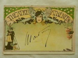 CPA  ART NOUVEAU   Théatre ATHENEE   Illustreur Géo DORIVAL Exposition 1900 - Theatre