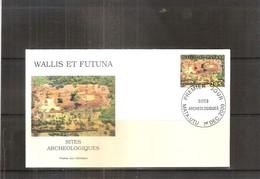 FDC Wallis & Futuna - Site De Talietumu -  2000  (à Voir) - Archéologie