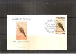 FDC Wallis & Futuna - Oiseau - Dacula Pacifica -  2001  (à Voir) - Pigeons & Columbiformes