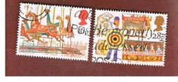 GRAN BRETAGNA (UNITED KINGDOM) -  SG 1227.1229 -  1983  BRIITISH FAIRS  - USED - 1952-.... (Elizabeth II)