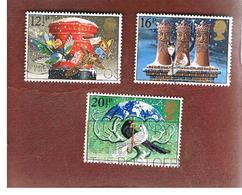 GRAN BRETAGNA (UNITED KINGDOM) -  SG 1231.1233 -  1983  CHRISTMAS  - USED - 1952-.... (Elizabeth II)