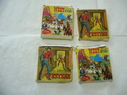 Lotto Film Super 8 A.V.O. Film - West Story - 1970 N.4 Titoli Differenti. - Altri