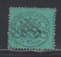 Etats Pontificaux 1868 Yvert 21 (o) B Oblitere(s) - Etats Pontificaux