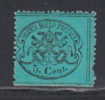 Etats Pontificaux 1868 Yvert 21 ** TB - Etats Pontificaux
