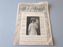 Revue Ancienne Mon Aiguille 1er Nov 1910 Lingerie Et Toilettes D'enfants  & - Magazines: Abonnements