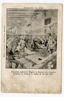 Serbia RARE Postcard Assassination Of Royal Couple Alexander And Draga Royalty 1903 Regicide Roi King Romania - Serbien