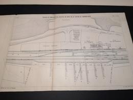 ANNALES PONTS Et CHAUSSEES (Dep 04) - Plan De Consolidation De La Station De Thorame-Haute - Imp A.Gentil 1912 (CLF16) - Travaux Publics
