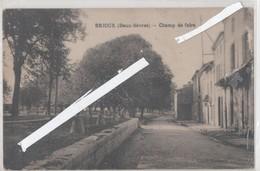 LOT 0821 BRIOUX CHAMP DE FOIRE - Brioux Sur Boutonne