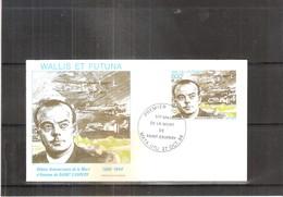 FDC Wallis & Futuna - Antoine De Saint-Exupery - 1900-1944  (à Voir) - Avions