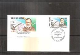 FDC Wallis & Futuna - Louis Pasteur - 1822-1895 (à Voir) - Louis Pasteur