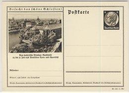 DR - 6 Pfg. Hindenburg, Bild-GA-Karte (Breslau Sandinsel) - Ungebraucht - Deutschland