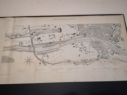 ANNALES PONTS Et CHAUSSEES (Allemagne) - Plan Des Ports De Francfort-Sur-Le-Mein - Graveur Macquet 1891 (CLF17) - Zeekaarten