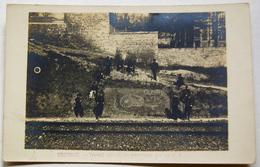 Carte-photo  Pontoise Gloire Au 75. Travail Effectué En Porcelaine Par Un G.V. - Weltkrieg 1914-18