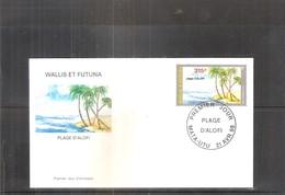 FDC Wallis & Futuna - Plage D'Alofi - 1998 (à Voir) - FDC