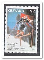 Guyana 1988, Postfris MNH, Olympic Winter Games - Guyana (1966-...)
