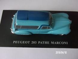 PEUGEOT 203 PATHE MARCONI - Publicitaires - Toutes Marques