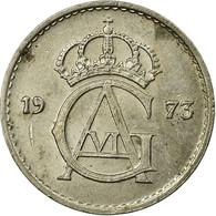 Monnaie, Suède, Carl XVI Gustaf, 25 Öre, 1973, TB+, Copper-nickel, KM:851 - Suède