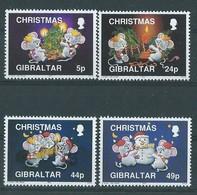 Timbre-Poste GIBRALTAR Série N°: 688/91** - Gibraltar