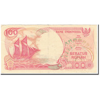Billet, Indonésie, 100 Rupiah, 1992, KM:127d, TTB - Indonésie