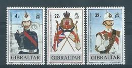Timbre-Poste GIBRALTAR Série N°: 575/77** - Gibilterra