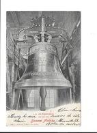 LA CLÉMENCE 1407-1867-1902. Bonne Année! (Cloche Cathédrale Saint-Pierre à GENEVE). - GE Geneva