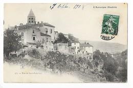 Vue De Saint-Saturnin  (cpa 63)  L'Auvergne Illustrée    -  L  1 - France
