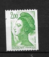 France:n°2491** (cat Maury) 2 1/2 Bdes De Phosphore, Ce Type N'est Pas Référencé - Coil Stamps