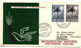 EUROPA 1957 FDC - FDC