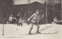 CPA Suisse * Sports D'Hiver - Skieurs * - Sports D'hiver