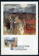 Royaume Uni - Carte Maximum 1971 - Oeuvre De Flanagan - Cartes-Maximum (CM)