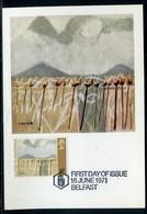 Royaume Uni - Carte Maximum 1971 - Oeuvre De Middleton - Cartes-Maximum (CM)