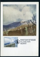 Royaume Uni - Carte Maximum 1971 - Oeuvre De Tom Carr - Cartes-Maximum (CM)