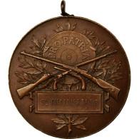 France, Médaille, Pro Patria, Société Giennoise De Tir, TTB+, Cuivre - France