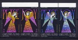 Weihnachtsinsel Nr.55/6 Paare         **  MNH       (001) - Christmas Island