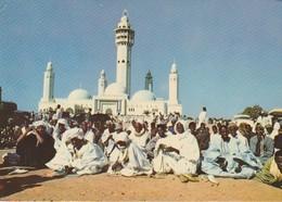 C.P. - PHOTO - IMAGES DU SÉNÉGAL - MOSQUÉE DE TOUBA - JOUR DE TABASKI - G.I.A. - RENAUDEAU - PC 13 - - Senegal