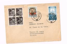 Lettre De Leipzig à Braine-le-Comte (Belgique) - [6] République Démocratique