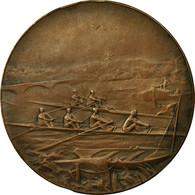 France, Médaille, Course D'Aviron, Offert Par Le Préfet Du Pas-de-Calais - France