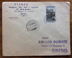 FILATELIA  2 CONVEGNO FILATELICO GENOVA  17/11/1946 ANNULLO SU L. 1 REPUBBLICHE MEDIOEVALI - Francobolli
