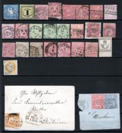 Germania Antichi Stati Accumulatino 25 Val + 1cover O/Used - Deutschland