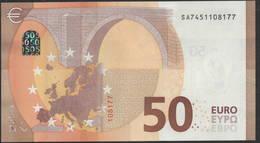 """50 EURO ITALIA  SA  S022 G5   Ch. """"45""""  -  UNC - 50 Euro"""